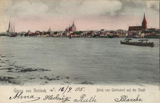 Ansichtskarte, 1905 gelaufen