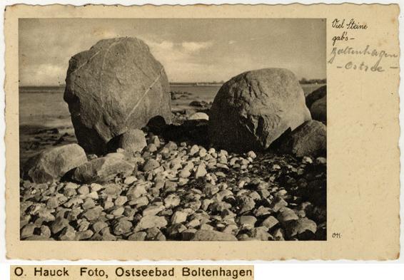 O. Hauck. Ansichtskarte, ungelaufen