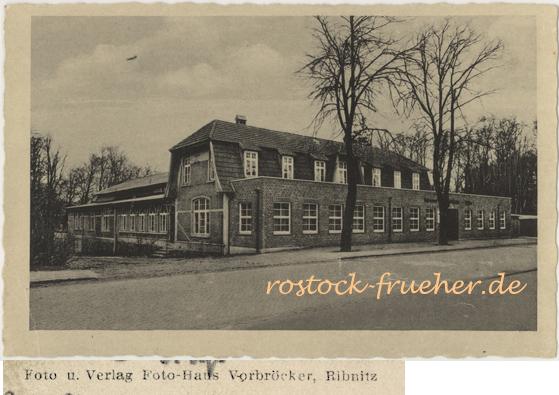 Foto und Verlag Foto-Haus Vorbröcker. Konzert- und Tanz-Cafe Schützenhaus. Ansichtskarte, 1943 gelaufen