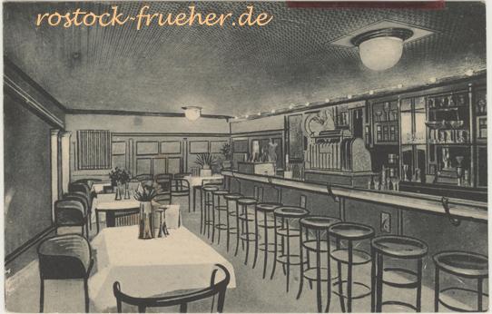 Colloseum. American Bar. Wismarsche Straße. 1922 gelaufen